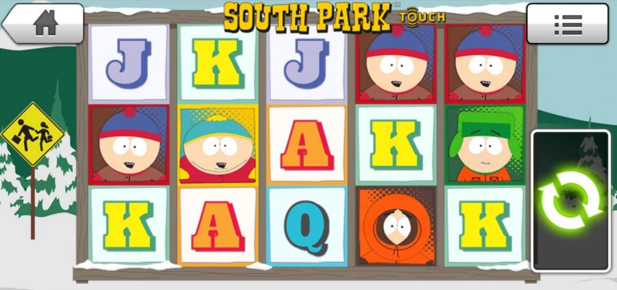 South Park Touch game by Netent